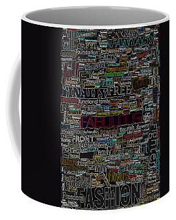 F - Words Coffee Mug