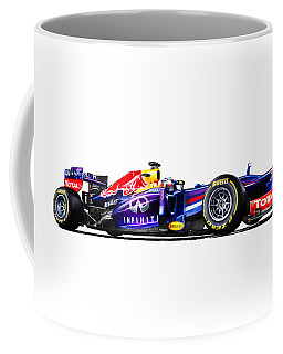 F1 Red Bull Rb9 Coffee Mug