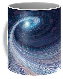 Fabric Of Space Coffee Mug by Fran Riley