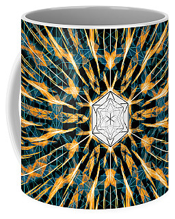Coffee Mug featuring the drawing Fabric Of The Universe by Derek Gedney