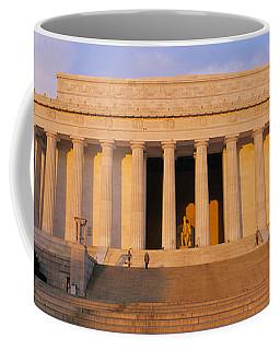 Facade Of A Memorial Building, Lincoln Coffee Mug