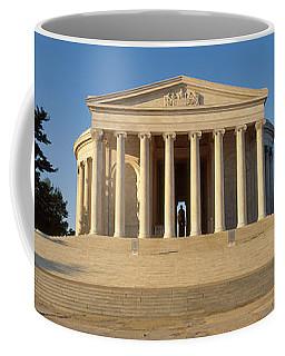Facade Of A Memorial, Jefferson Coffee Mug