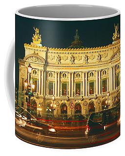 Facade Of An Opera House, Palais Coffee Mug