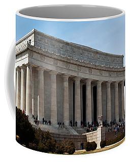 Facade Of The Lincoln Memorial, The Coffee Mug