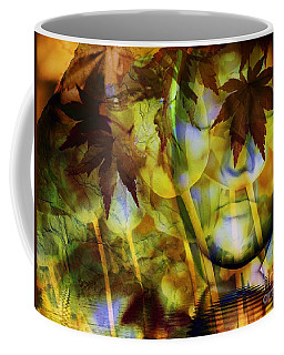 Face In The Rock Dreams Of Tulips Coffee Mug