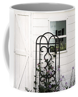 Coffee Mug featuring the photograph Face In The Window by Brooke T Ryan