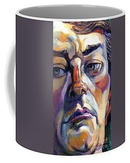Face Of A Man Coffee Mug