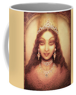 Face Of The Goddess Durga  Coffee Mug