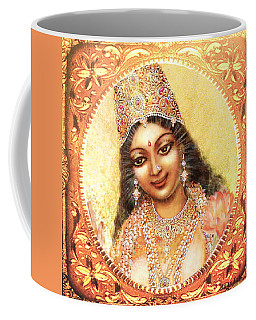 Face Of The Goddess - Lalitha Devi  Coffee Mug