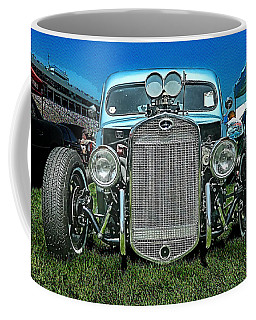 Face Of The Rat Rod Coffee Mug