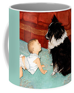 Face-to-nose Coffee Mug by Barbara Jewell