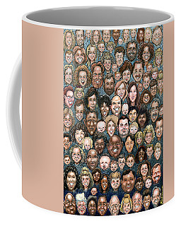 Faces Of Humanity Coffee Mug
