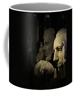 Faces Of Rushmore Coffee Mug