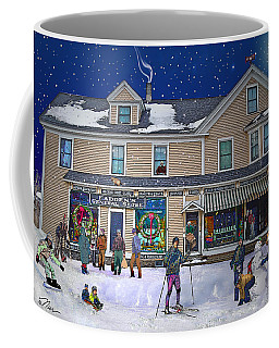 Faddens General Store In North Woodstock Nh Coffee Mug