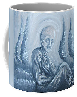 Coffee Mug featuring the painting Fade Away by Michael  TMAD Finney