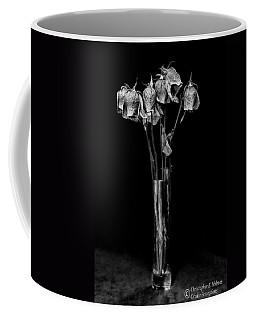 Faded Long Stems - Bw Coffee Mug