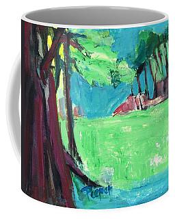 Fairway In Early Spring Coffee Mug