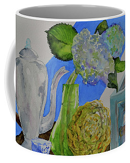 Coffee Mug featuring the painting Fairy Soda Fine Crackers by Beverley Harper Tinsley