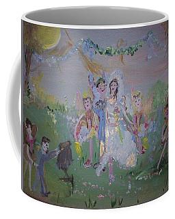 Fairy Wedding Coffee Mug by Judith Desrosiers