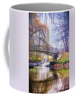 Fairytale Bridge Coffee Mug by Mariola Bitner