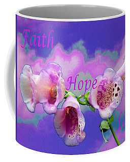 Faith-hope-love Coffee Mug