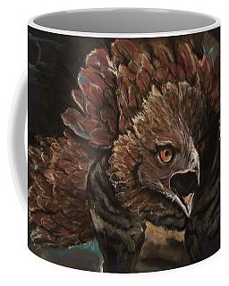 Coffee Mug featuring the pastel Falcon Opera  by Peter Suhocke