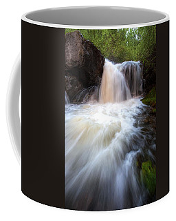 Coffee Mug featuring the photograph Fall And Splash by David Andersen