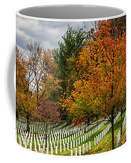 Fall Arlington National Cemetery  Coffee Mug