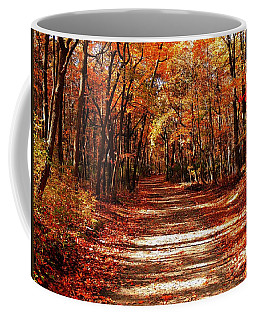 Fall At Cheesequake Coffee Mug