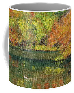 Fall At Dorrs Pond Coffee Mug