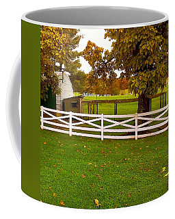 Fall At Eisenhower Farm Coffee Mug