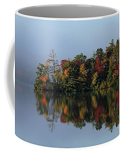 Fall At Heart Pond Coffee Mug