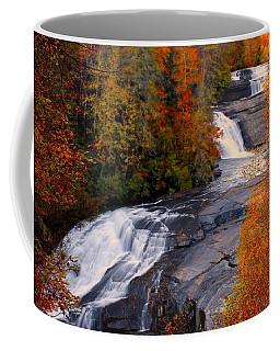 Fall At Triple Falls Coffee Mug