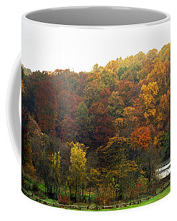 Fall At Valley Forge Coffee Mug by Skip Willits