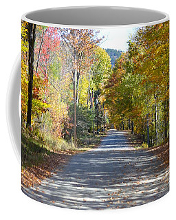 Fall Backroad Coffee Mug