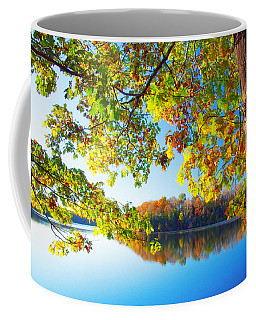 Fall By The Lake Coffee Mug