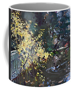 Fall By The Pond Coffee Mug
