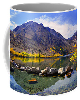 Fall Colors At Convict Lake  Coffee Mug
