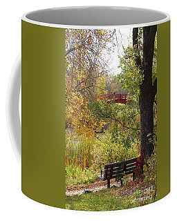 Fall Colors Coffee Mug by Cendrine Marrouat