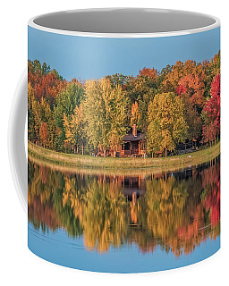Fall Colors In Cabin Country Coffee Mug by Paul Freidlund