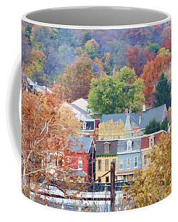 Fall Colors In Columbia Pennsylvania Coffee Mug