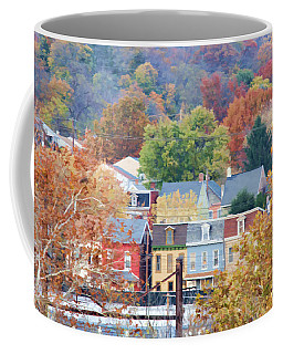 Fall Colors In Columbia Pennsylvania Coffee Mug