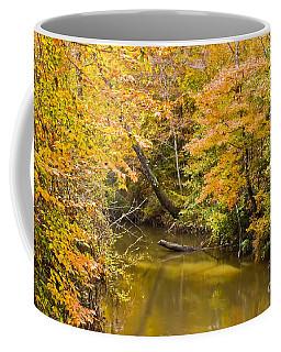 Fall Creek Foliage Coffee Mug