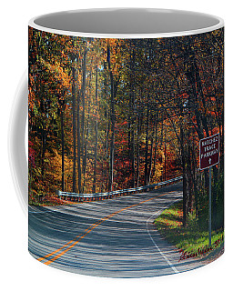 Coffee Mug featuring the photograph Fall Drive In Tennessee  1 by Ericamaxine Price