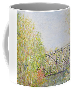 Fall Foliage And Bridge In Nh Coffee Mug