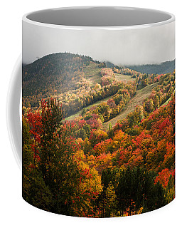Fall Foliage On Canon Mountain Nh Coffee Mug