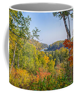 Fall In Gooseberry State Park Coffee Mug