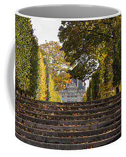 Coffee Mug featuring the photograph Fall In Paris by Glenn DiPaola
