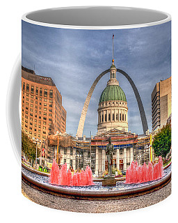 Coffee Mug featuring the photograph Fall In St. Louis by Deborah Klubertanz
