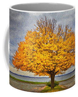 Fall Linden Coffee Mug